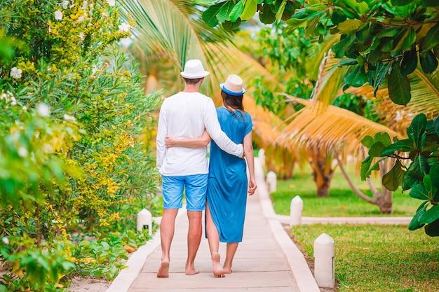 Gezin van twee genieten van zomervakantie