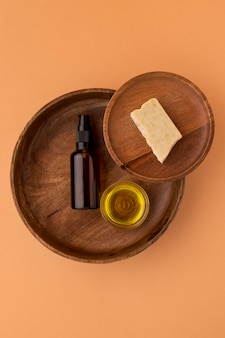 Gezond assortiment jojoba-olie
