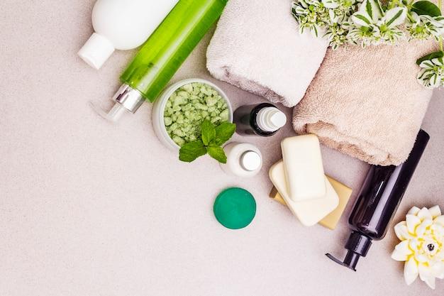 Gezond en beauty spa bloemconcept