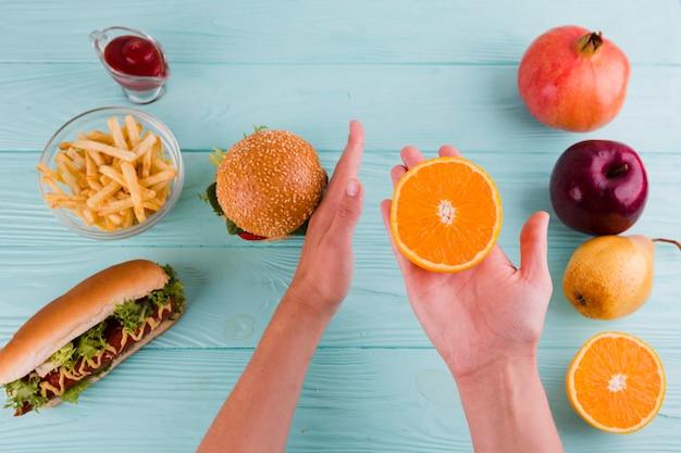 Gezond en ongezond voedsel