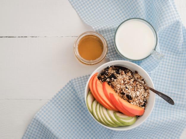 Gezond en smakelijk ontbijt