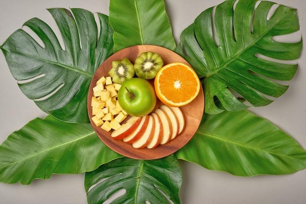 Gezond eten, dieet. verse diverse citrusvruchten