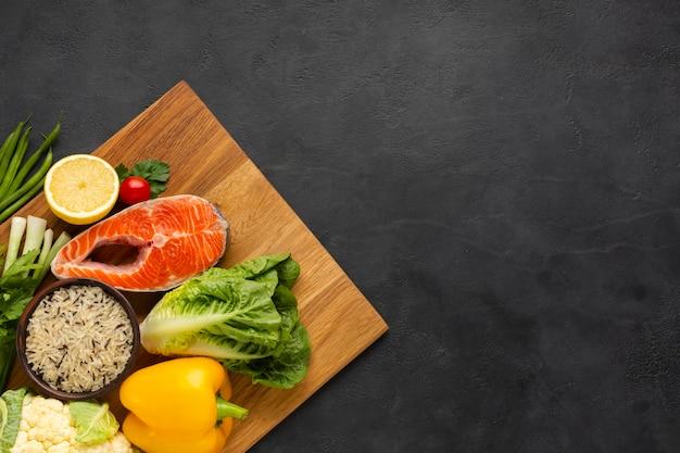 Gezond eten met kopie ruimte