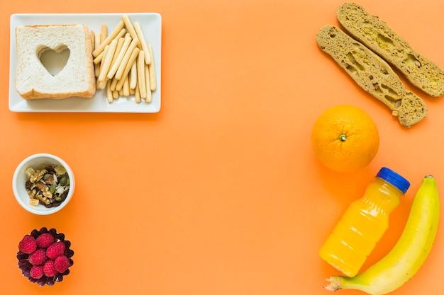 Gezond eten voor een goede lunch