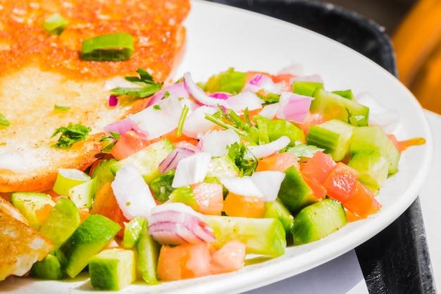 Gezond ontbijt met groenten