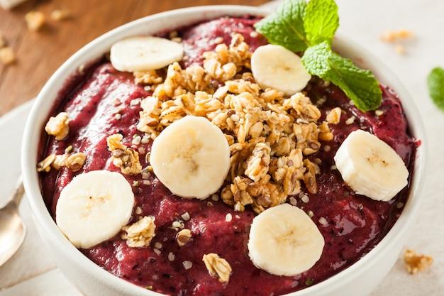 Gezond ontbijt met muesli