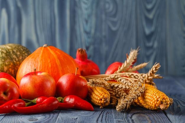 Gezond organisch groentenstilleven art design
