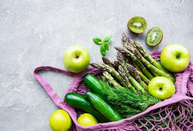 Gezond vegetarisch eten concept achtergrond
