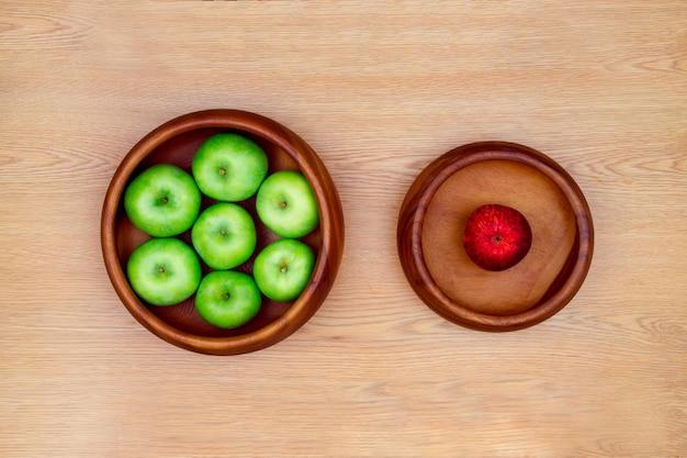 Gezond voedselconcept