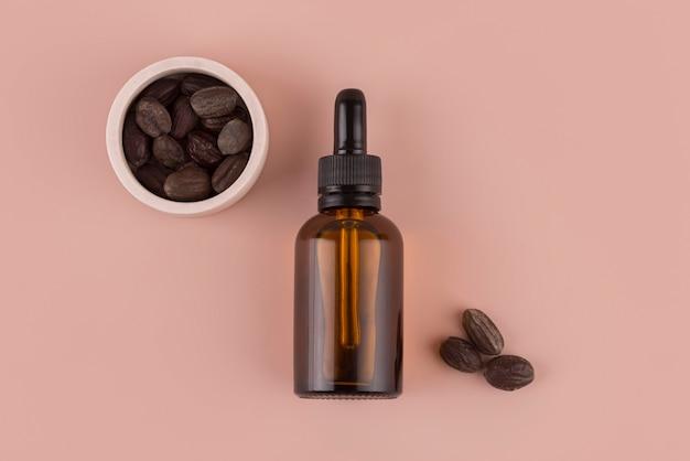 Gezonde behandeling met jojoba-olie