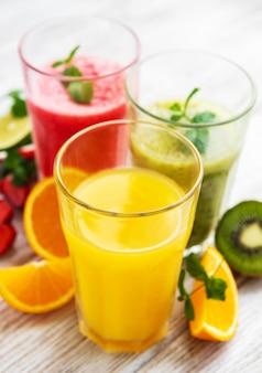 Gezonde fruitsmoothies