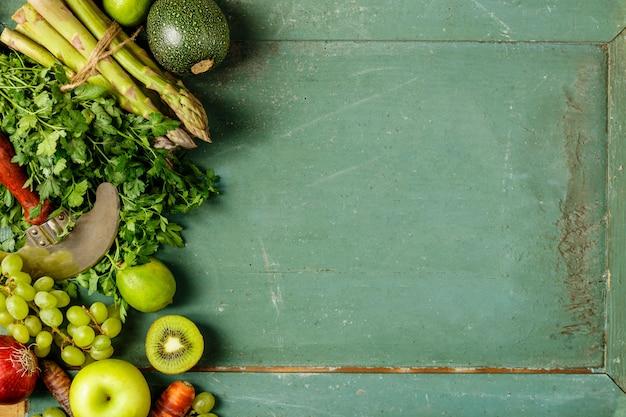 Gezonde groenten en fruit
