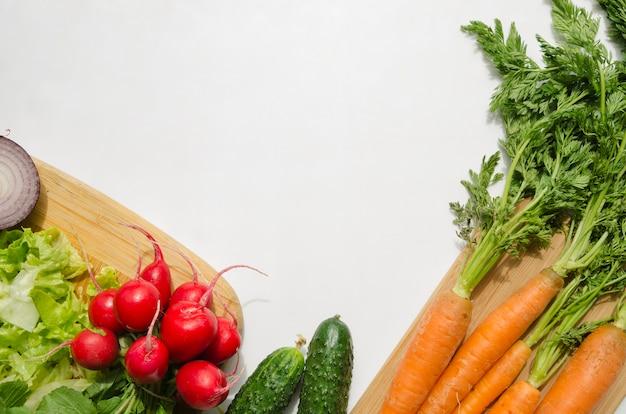 Gezonde ingrediënten in een salade