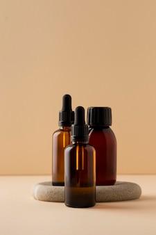 Gezonde jojoba-olie arrangement