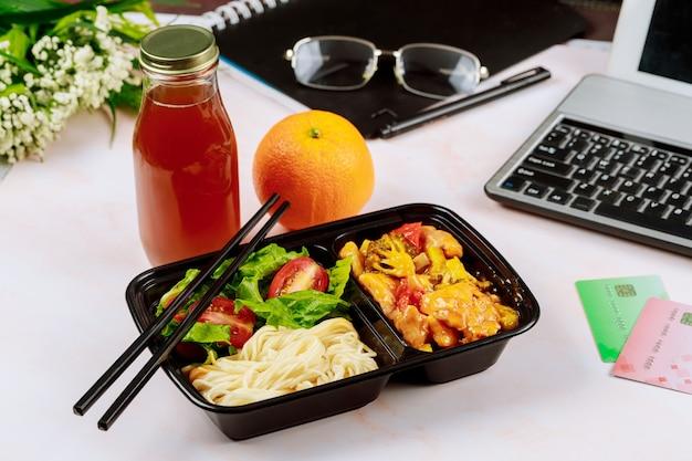Gezonde lunch bestellen op kantoor
