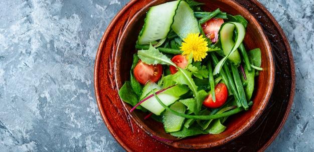 Gezonde vegan salade