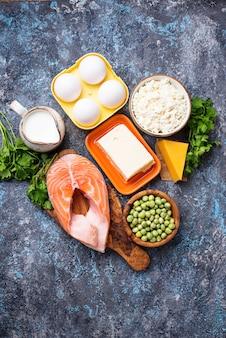Gezonde voeding met vitamine d