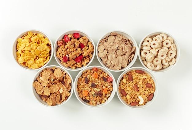 Gezonde voeding ontbijt ingrediënten