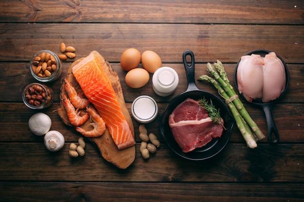 Gezonde voeding voor een eiwitdieet