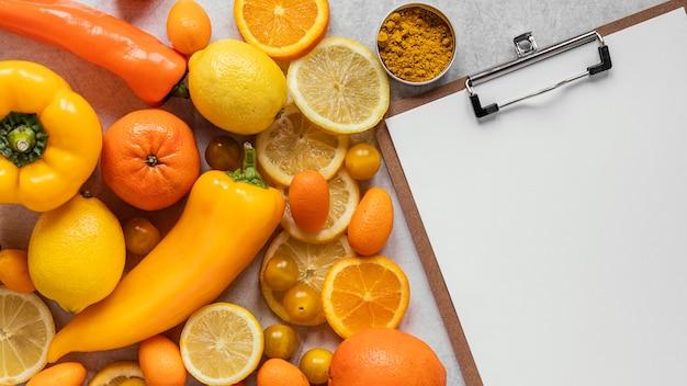 Gezonde voeding voor immuniteitsverhogende samenstelling