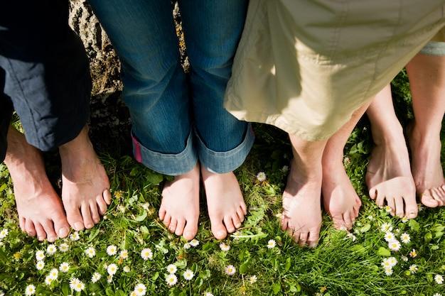 Gezonde voeten - op een rij
