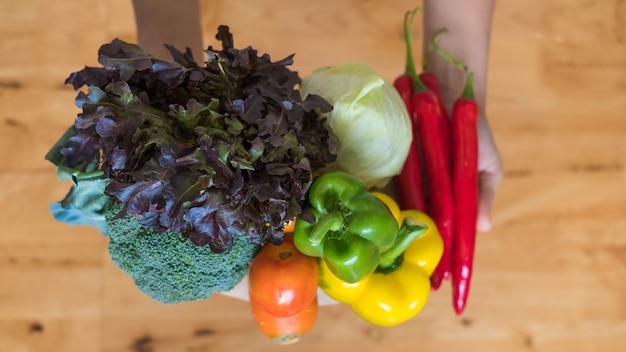 Gezonde zorg fruit en groenten