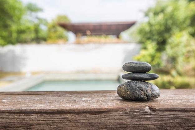Gezondheid pure therapie vrede baksteen