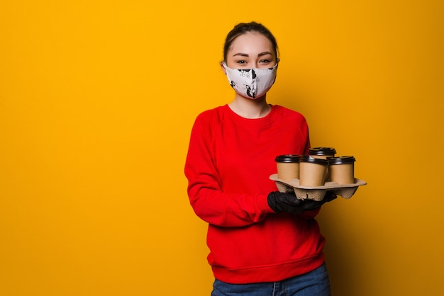 Gezondheidsbescherming, veiligheid en pandemie concept