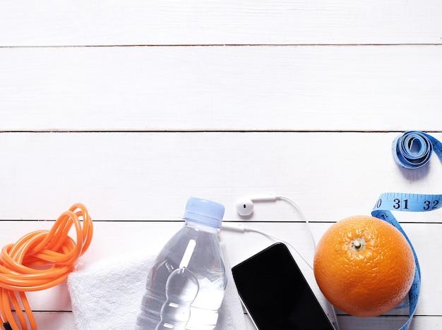 Gezondheidssamenstelling met vruchten