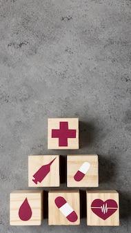 Gezondheidsstilleven met exemplaarruimte