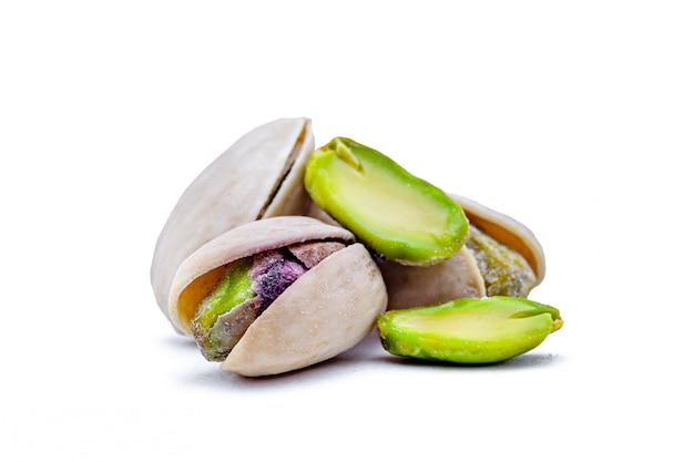 Gezouten geïsoleerde pistache
