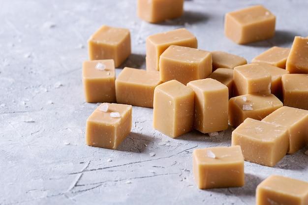 Gezouten karamelzachte toffee