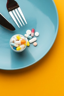 Ggo-chemisch gemodificeerd voedsel en pillen