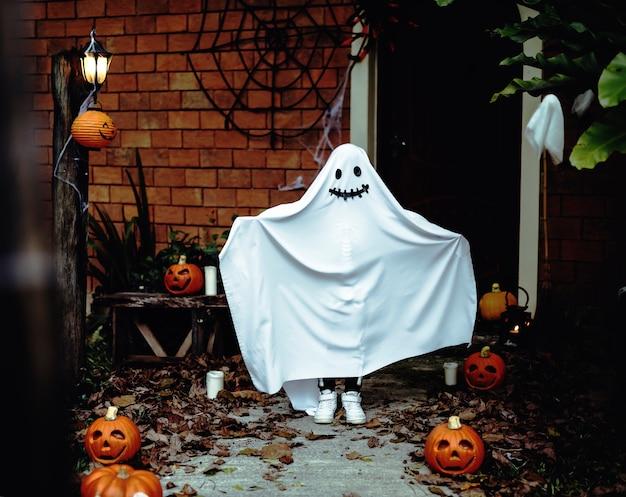 Ghost kostuum voor halloween-feest