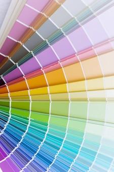 Gids kleurenkaart wiel