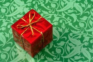 Gift box dicht close up