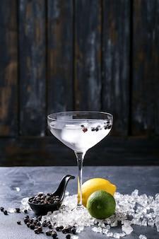 Gin en tonic drankje