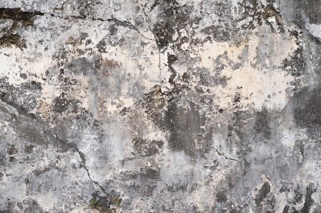 Gipswanden in loftstijl, grijs, wit, lege ruimte gebruikt als behang. populair in huisontwerp