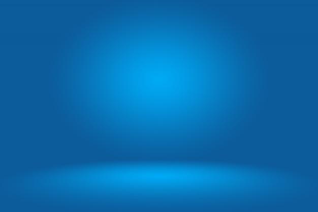 Glad donkerblauw met zwarte vignet studio.