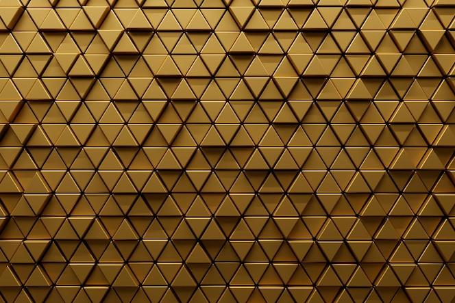 Glad goudkleurig gestructureerd materiaal