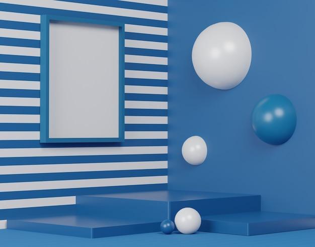Glanzend luxe podium voor uw ontwerp. modeshow podium, voetstuk, winkelpui. lege scène voor cosmetische show.