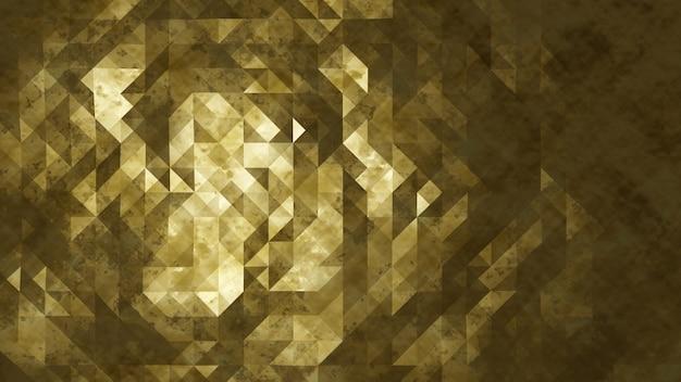 Glanzende gouden abstracte achtergrond