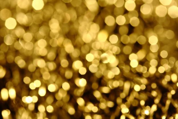 Glanzende gouden lichten