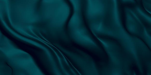 Glanzende stof zwevende strepen luxe textuur achtergrond 3d illustratie