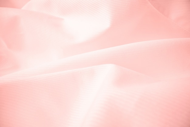 Glanzende vloeiende doektextuur in macroschot