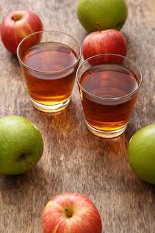 Glas appelsap