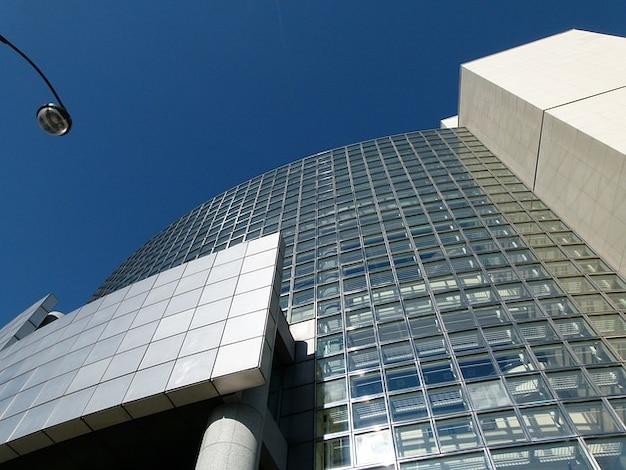Glas bastille parijs frankrijk opera gebouw