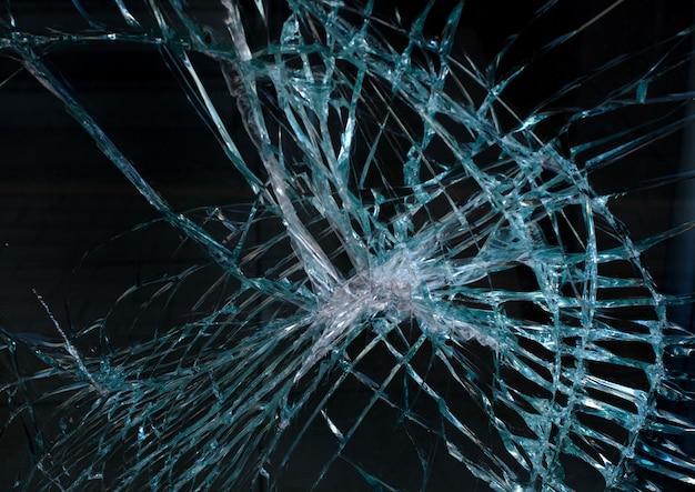 Glas crash textuur