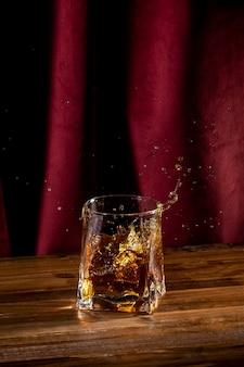 Glas met drankje