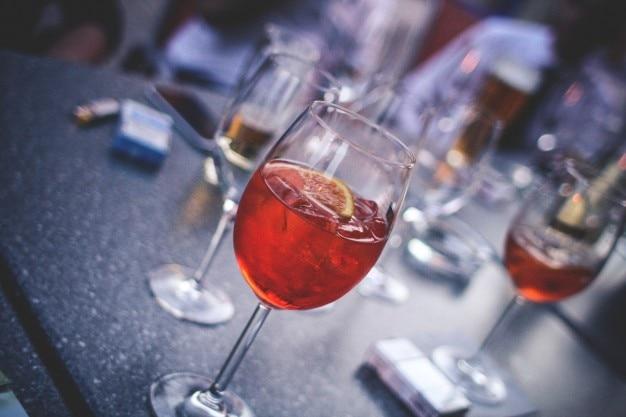 Glas spritz